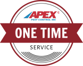 Apex Pest Control one-time service